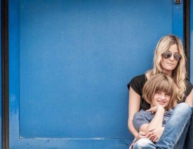 Make up hair artist Andrea Pirchner aus Berlin mit Emma Schweiger